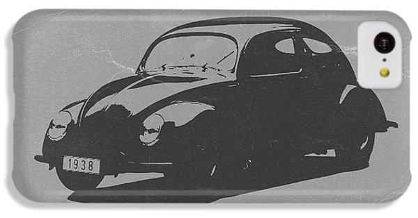 Vw Beetle IPhone 5c Case by Naxart Studio