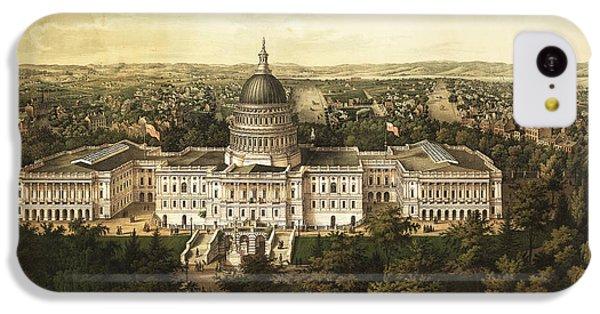 Washington City 1857 IPhone 5c Case by Jon Neidert