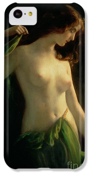 Water Nymph IPhone 5c Case by Otto Theodor Gustav Lingner