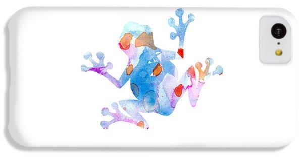Watercolor Frog IPhone 5c Case by Nursery Art
