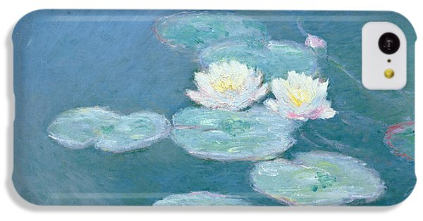 Waterlilies Evening IPhone 5c Case by Claude Monet