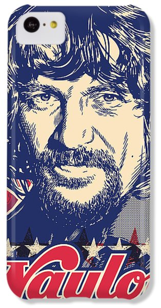 Waylon Jennings Pop Art IPhone 5c Case by Jim Zahniser