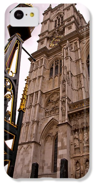 Westminster Abbey London England IPhone 5c Case by Jon Berghoff