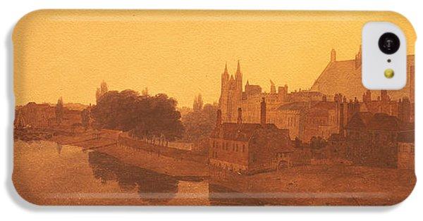 Westminster Abbey  IPhone 5c Case by Peter de Wint