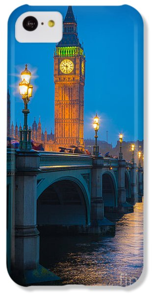 Westminster Bridge At Night IPhone 5c Case by Inge Johnsson