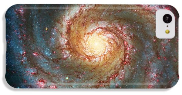 Whirlpool Galaxy  IPhone 5c Case by Jennifer Rondinelli Reilly - Fine Art Photography