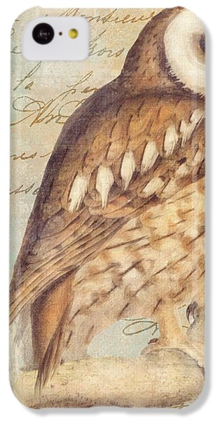 White Faced Owl IPhone 5c Case by Mindy Sommers