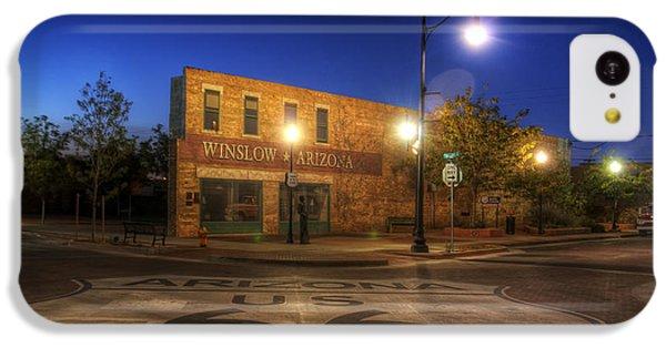 Winslow Corner IPhone 5c Case by Wayne Stadler