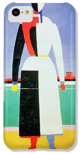 Woman With A Rake IPhone 5c Case by Kazimir Severinovich Malevich