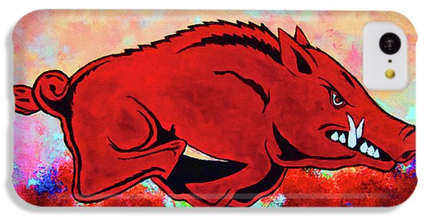 Woo Pig Sooie 3 IPhone 5c Case by Belinda Nagy