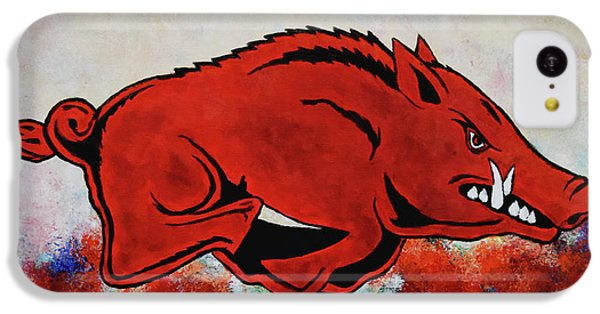 Woo Pig Sooie IPhone 5c Case by Belinda Nagy