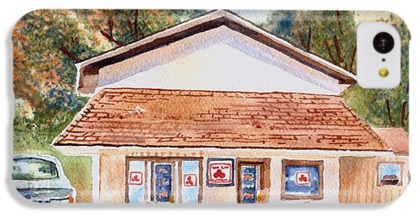 Woodcock Insurance In Watercolor  W406 IPhone 5c Case by Kip DeVore