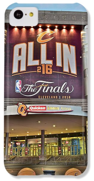 World Champion Cleveland Cavaliers IPhone 5c Case by Frozen in Time Fine Art Photography