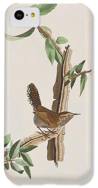 Wren IPhone 5c Case by John James Audubon