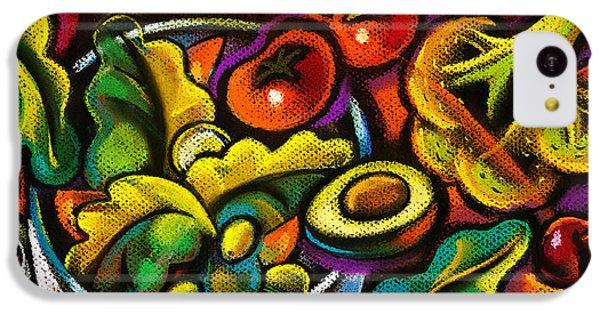 Yammy Salad IPhone 5c Case by Leon Zernitsky