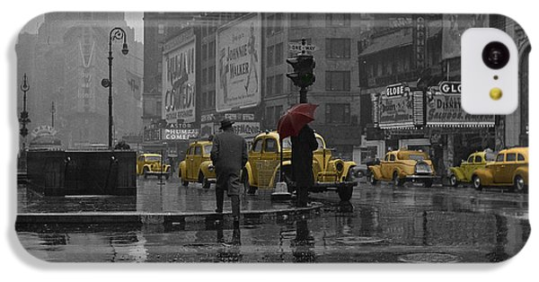 Yellow Cabs New York IPhone 5c Case by Andrew Fare