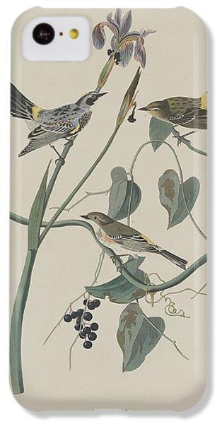 Yellow-crown Warbler IPhone 5c Case by John James Audubon