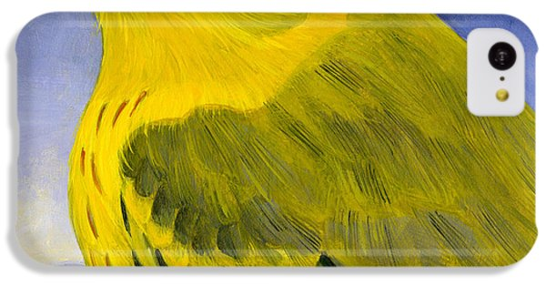 Yellow Warbler IPhone 5c Case by Francois Girard