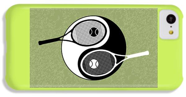 Yin Yang Tennis IPhone 5c Case by Carlos Vieira