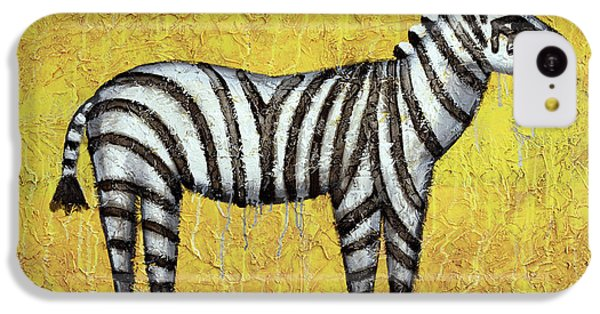 Zebra IPhone 5c Case by Kelly Jade King