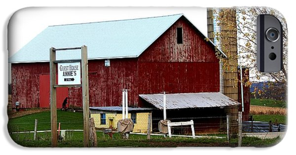 Amish Community Photographs iPhone Cases -                Annies iPhone Case by R A W M