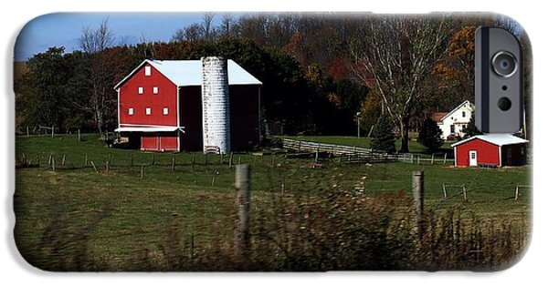 Amish Community iPhone Cases -             Bull Hill iPhone Case by R A W M