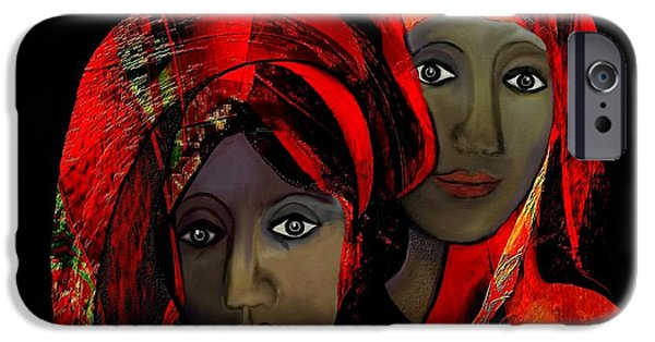 Irmgard iPhone Cases -   000 - Colour of passion iPhone Case by Irmgard Schoendorf Welch