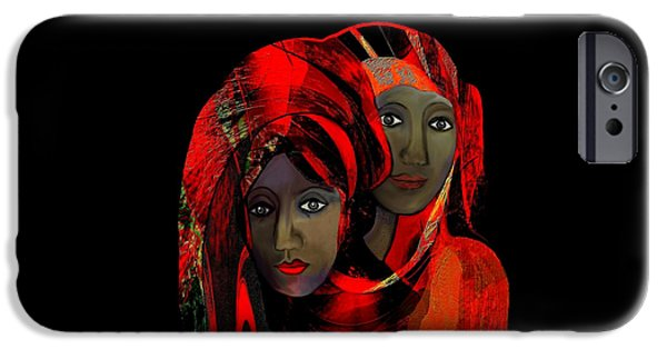 Luminescent iPhone Cases -   000 - Colour of passion iPhone Case by Irmgard Schoendorf Welch