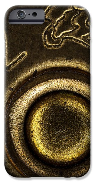 12 Gauge Shotgun Shell iPhone Case by Bob Orsillo