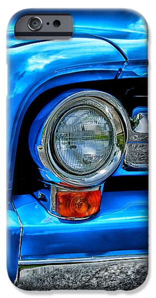United iPhone Cases -  1956 Ford Pick Up iPhone Case by Fred Heidel