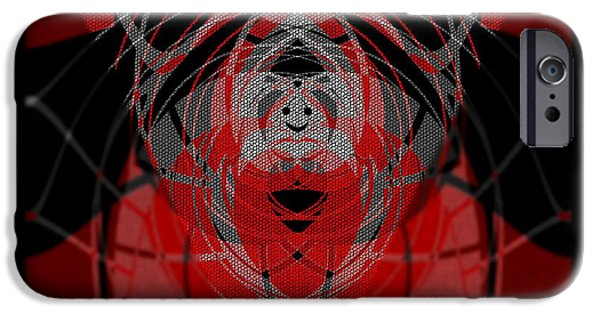 Abstract Digital iPhone Cases -  374  Light optimisme .... iPhone Case by Irmgard Schoendorf Welch