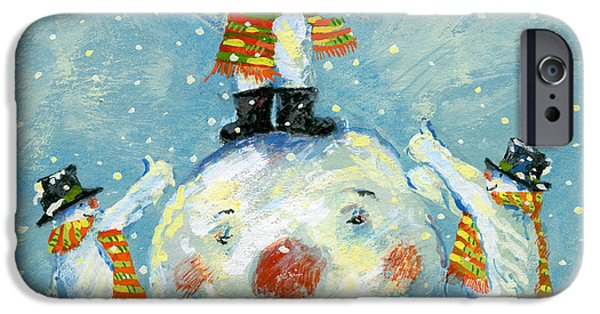 Snowball iPhone Cases -  A job well done  iPhone Case by David Cooke