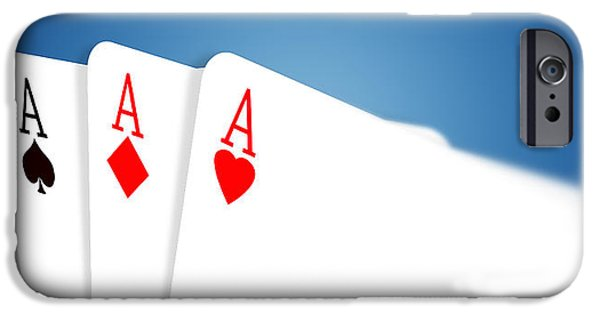 Recently Sold -  - Chip iPhone Cases -  Aces iPhone Case by Janaka Dharmasena