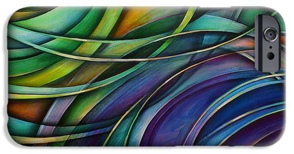Abstract Movement iPhone Cases -  Approach iPhone Case by Michael Lang
