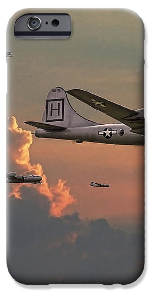 B29 - Korea iPhone Case by Pat Speirs