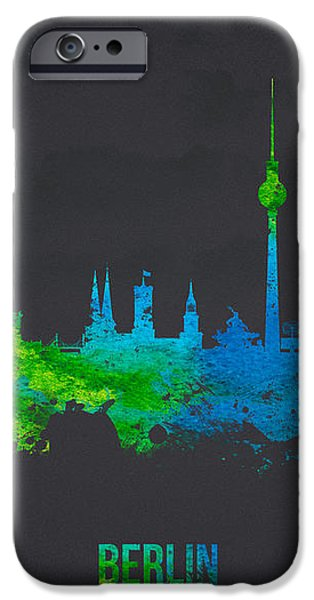 Berlin Germany iPhone Case by Aged Pixel