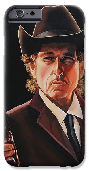 Bob Dylan 2 iPhone Case by Paul  Meijering