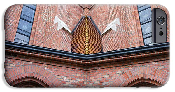 Reform iPhone Cases -  Buda Reformed Church Architectural Details iPhone Case by Artur Bogacki