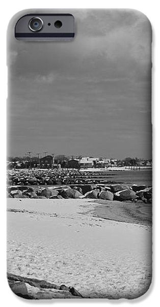 Cape Cod Winter Morning iPhone Case by Catherine Reusch  Daley