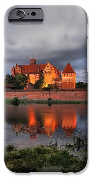 Castle iPhone Case by Jan Sieminski