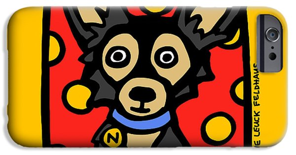 Puppy Iphone Case iPhone Cases -  Chihuahua Love iPhone Case by Anne Leuck Feldhaus