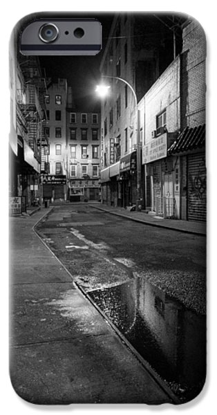 Chinatown New York City - Doyers street iPhone Case by Gary Heller