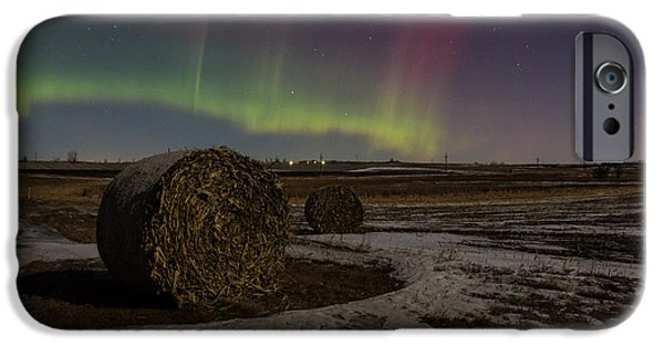 Aurora iPhone Cases -  Dakota Aurora iPhone Case by Aaron J Groen