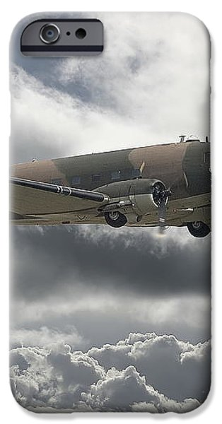 DC3 Dakota   Workhorse iPhone Case by Pat Speirs