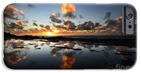Reflections Of Nature iPhone Cases -  Earth Third Planet From The Sun iPhone Case by Bob Christopher