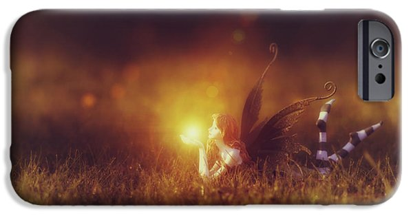 Nature Divine iPhone Cases -  Faerie Light  iPhone Case by Tim Gainey