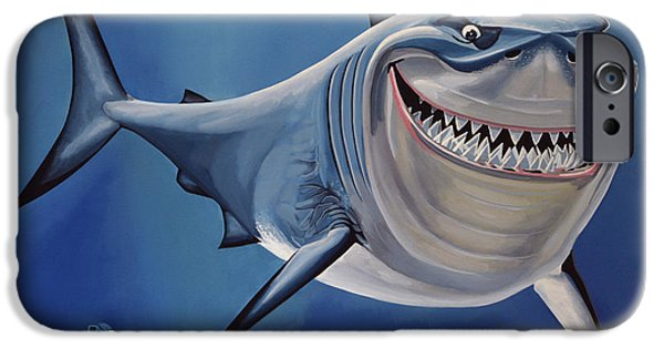 Animation iPhone Cases -  Finding Nemo iPhone Case by Paul  Meijering