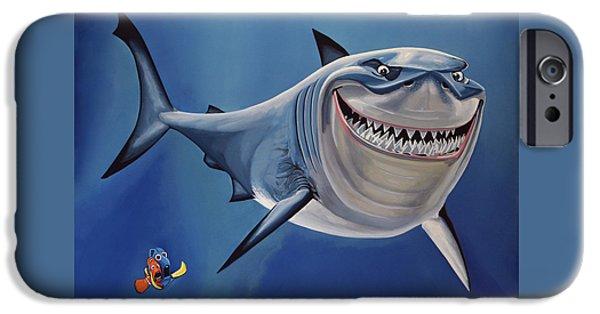 Film iPhone Cases -  Finding Nemo iPhone Case by Paul  Meijering
