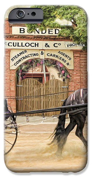 Friesian Folly iPhone Case by Trudi Simmonds