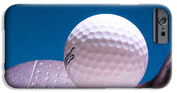 Golf Club iPhone Cases -  Golf iPhone Case by David and Carol Kelly